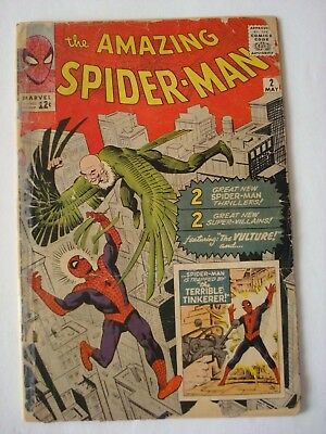 The Amazing Spider-Man #2 (May 1963, Marvel)