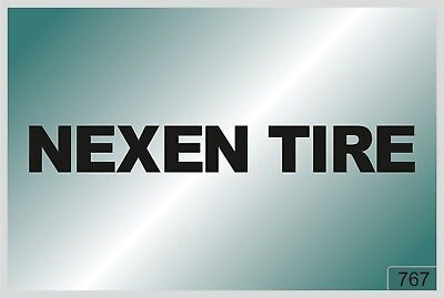Nexen tire -2 pcs. stickers  - HIGH QUALITY DECALS - different colors - №767