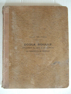 Cahier Cours Perspective Et Ombres Ecole Boulle 1929 1930 Eleve Laurent Andre