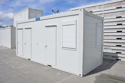 Portable Building New 20' x 8'/6m x 2.5m Toilet, Shower & Kitchen