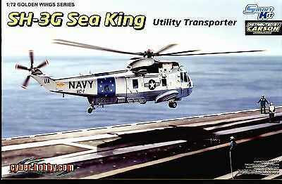 Sea King SH-3G Utility Transporter  1:72 Dragon / Cyber-Hobby 5113