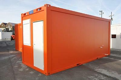 Portable Building New 20' x 8' Sleeper Unit with toilet,shower