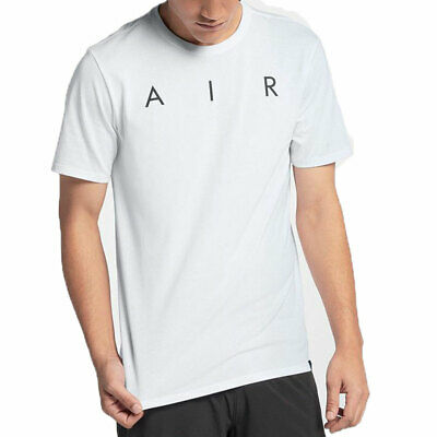e7cd0c4d4b80ca Air Jordan Rise Photo Men s Athletic Casual T-Shirt White Black 895175-100