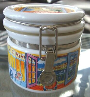 Chaleur Masters Collection Starbucks Coffee Canister Lock Lid- R Dufy D Barrows