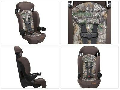 Cosco Finale 2-in-1 Highback Booster 5 Point Harness Car Seat Realtree Xtra SAFE