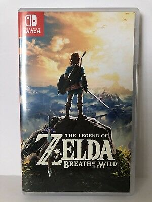 Legend of Zelda Breath of the Wild Special Edition Nintendo Switch Game ONLY