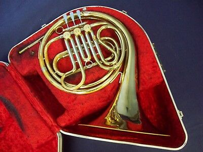 Classic Quality!  F. E. Olds Ambassador French Horn Fullerton Ca + Olds Case