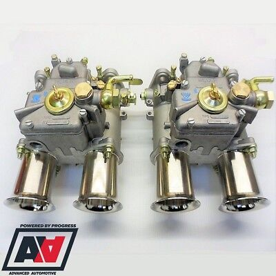 """Weber 45 DCOE 152 """"G"""" Twin Carbs For 16 Valve Engines Genuine With Fitting Kit"""
