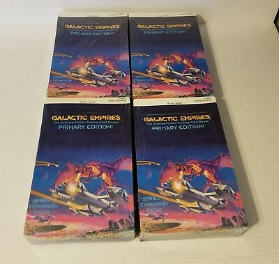 FOUR Galactic Empires CCG Series 2 Primary Edition Booster Box's
