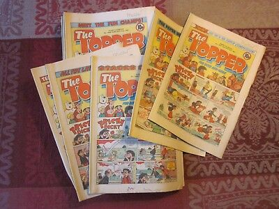 The Topper Comics - 1981 - 38 issues in total (Jan - Nov)