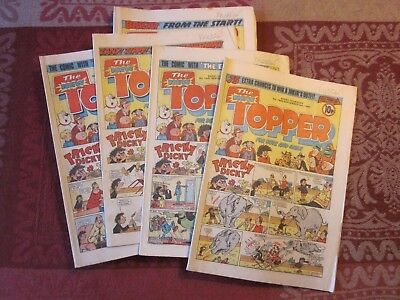 The Topper Comics - 1980 15 issues in total (Sept - Dec inc. Christmas edition)
