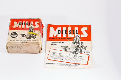 Mills 1.3 Diesel Box And Instruction Leaflet