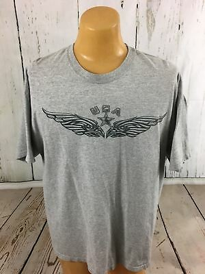 Made in The USA United States Of America Men's T-Shirt Size  Large Captain