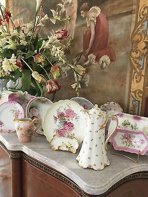Haviland, Yellow Roses, Coffee, Tea Or Chocolate Pot, Pitcher, France