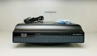 Cisco 1900 Series CISCO1941-SEC/K9 Integrated Services Router -samedayship-
