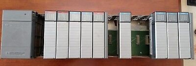 Allen-Bradley SLC 500 system,13 slot chasis, P2 Power Supply, 9 IO cards