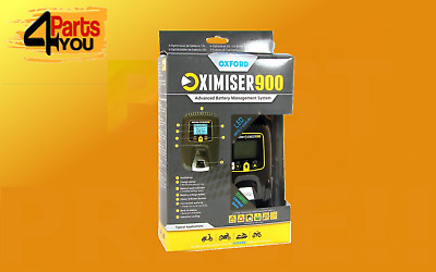 NEW Oxford Essential Battery Charger Management System  Motorbike Oximiser 900