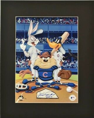 Fergie Jenkins Signed HoF 91 Limited Edition 26/32 Looney Tunes Litho