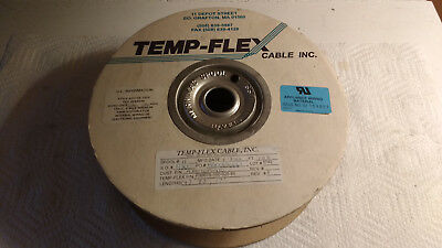 Partial Roll of Temp-Flex F3007S-100-025-85 30AWG Ribbon Cable, 100 Conductor