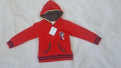 Girls Minnie Mouse Sweat Jacket With Hood