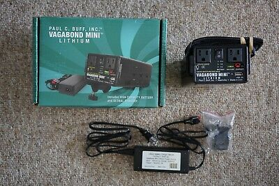 Paul C Buff Vagabond Mini Lithium Battery with Charger