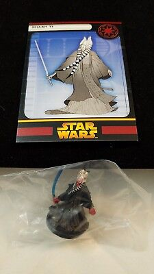 Star Wars Miniatures Revenge of the Sith 19/60 Shaak Ti RARE sealed w/card