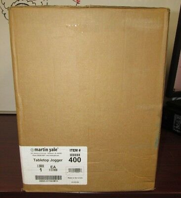 Martin Yale 400 Tabletop Paper Jogger [29A]