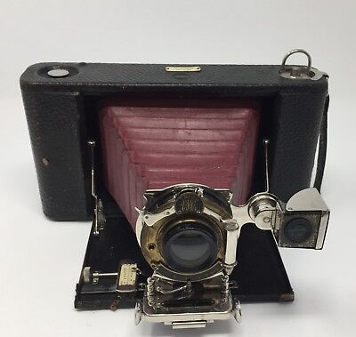 i 1908-1915 Kodak No. 3a Folding Hawk-Eye Camera Model 3