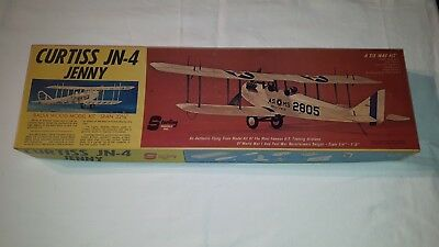 Sterling Modellbausatz Curtiss JN-4 Jenny, Kit E 1, Spann 33,5 Holz