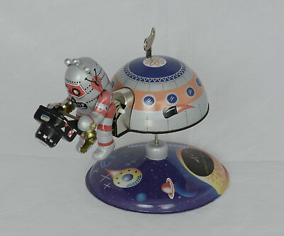 Wind-Up Toy Space Camera Man Colorado Space Coalition MARS-10