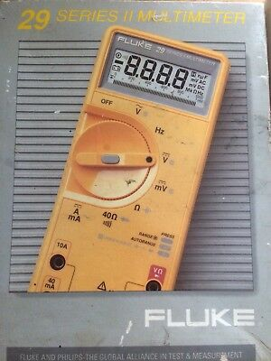 Fluke 29 Series II MultiMeter