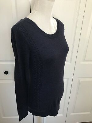 Liz Lange Maternity Sweater Navy Size Large