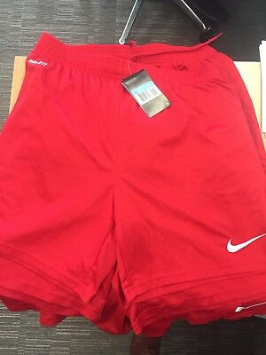 7 Nike Red Football Shorts Dry Fit Size Men's Medium