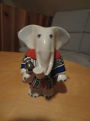 Villeroy und Boch, Rosemarie Benedikt. ANIMAL PARK Elephant Family TOM. RAR!
