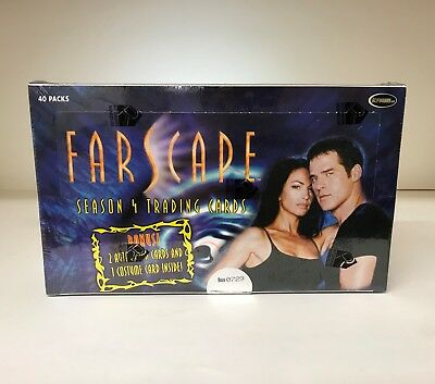 Farscape Season 4 - Sealed Trading Card Hobby Box - Season Four, 2003