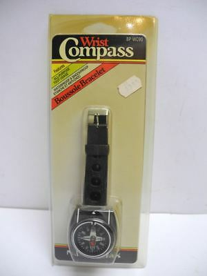 Vintage New Old Stock Normark BP WC90 Liquid Filled Wrist Compass