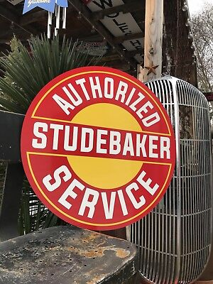 Antique Vintage Old Style Studebaker Service Sign