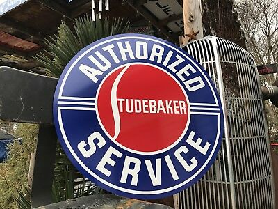 Antique Vintage Old Style Studebaker Sign