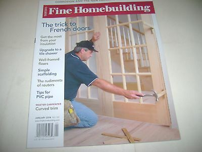 Fine Homebuilding - The Trick To French Doors - January 2004