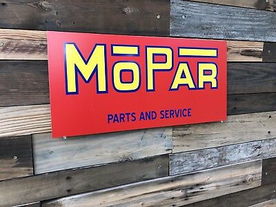 Antique Vintage Old Style Mopar Sign