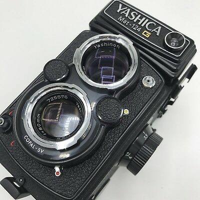 Yashica Mat-124 G Camera  film as is #1