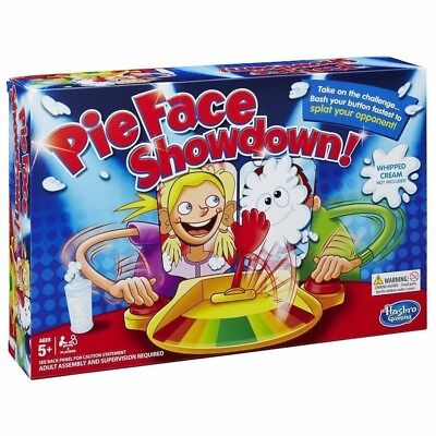 Official Pie Face Showdown Game Fun Filled Family Game of Suspense By Hasbro New