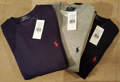 Polo Mens Ralph Lauren Pony Fleece Original Sweatshirt Navy Black Grey S M L XXL