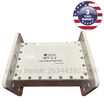New Norsat BPF-C-2 C-Band Band Pass Filter