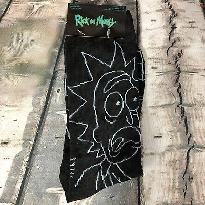 Rick And Morty 2  Crew Socks Rm3 Adult - Shoe Size 6-12