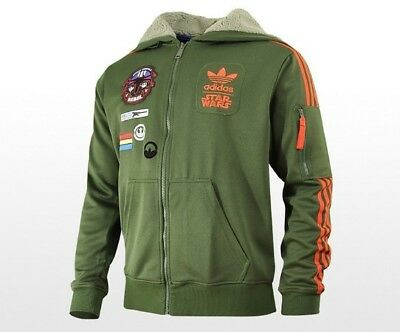 NWT Mens STAR WARS HOODY FLOCK X-WING O58904 JACKET OLIVER TRACK TOP