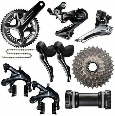 Shimano Dura Ace 9100 11s Bicycle Groupset 50/34T 170mm crank 11-30T cassette