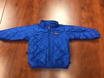 Patagonia Youth Down Sweater Jacket Coat 12M 12 Month Baby Infant Children's EUC