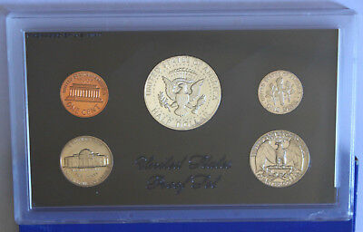 United States Proof Set *1970* - Usa Five Proof Coin Set -Original Box-