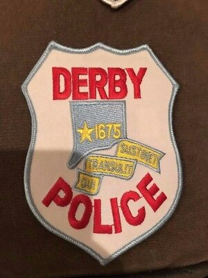 Derby CT Connecticut Police Patch